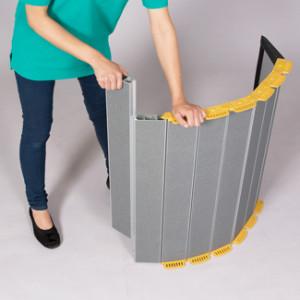 長さを簡単に変えられる段差解消スロープ