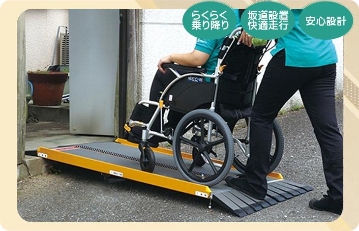 車椅子用FK(坂道対応)スロープ